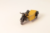 Moultoy # - AA Scout Motorcycle - Yellow/Black