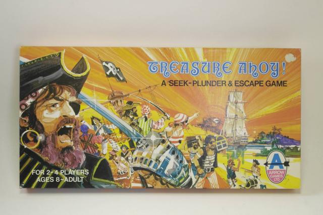 Picture Gallery for Arrow 6897 Treasure Ahoy Board Game