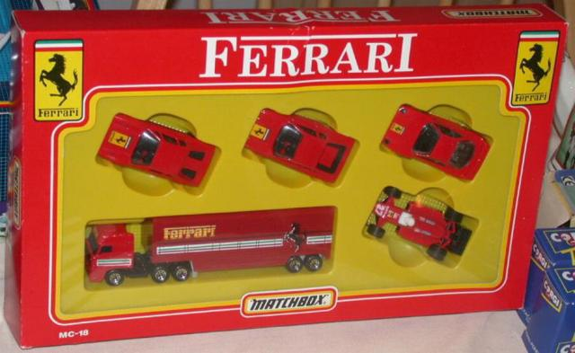 Matchbox Mc 18 Ferrari Set Free Price Guide Review