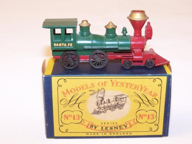 Picture Gallery for Matchbox Yesteryear Y13 Santa Fe Loco