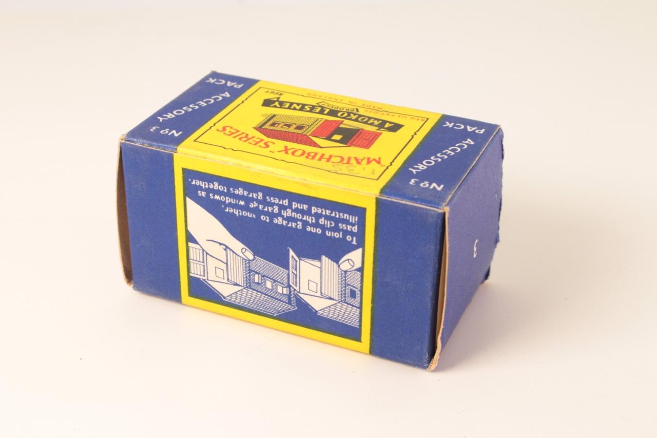 Matchbox #A3 - Garage - Yellow/Brown