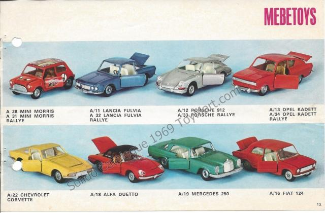 Picture Gallery for Mebetoys A16 Fiat 124
