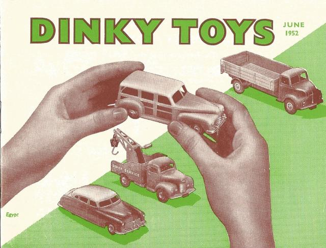 Picture Gallery for Catalogue 1952 Dinky