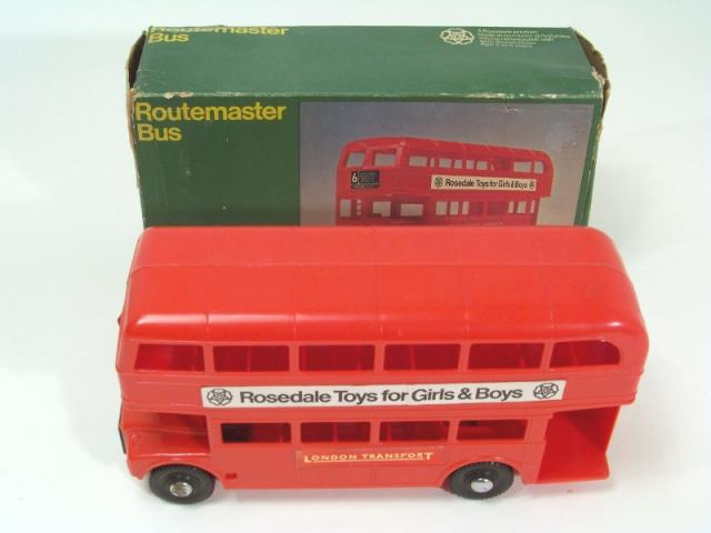Picture Gallery for Rosedale 6596 Routemaster Bus