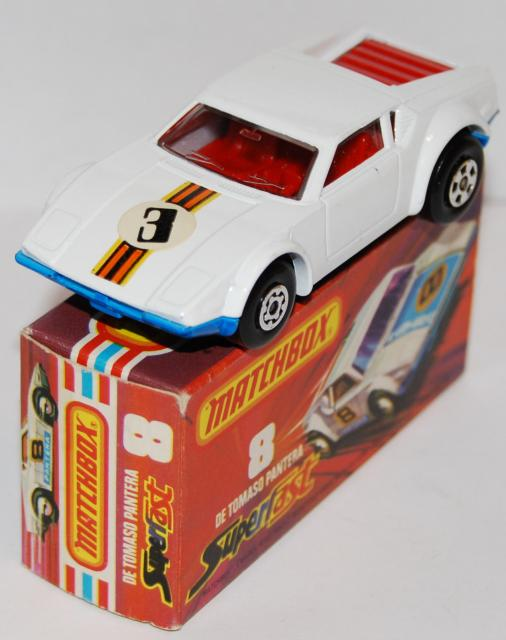 Picture Gallery for Matchbox 8g De Tomaso Pantera