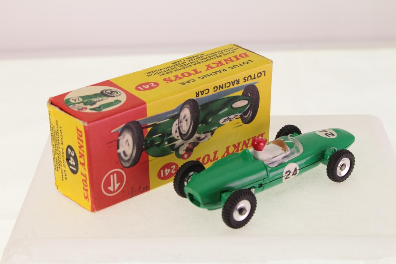 Dinky #241 - Lotus Racing Car - Green