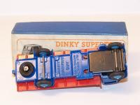 Dinky #512 - Guy Flat Truck - Blue/Red (1st Type Cab)