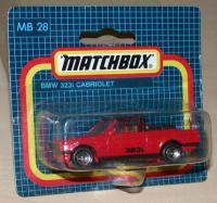 Matchbox 28j Bmw 323i Cabriolet Free Price Guide Review