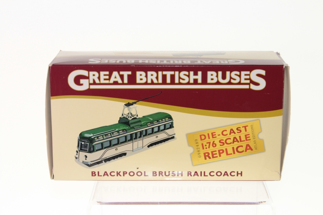 Picture Gallery for Atlas Editions 4655123 Blackpool Brush Railcoach