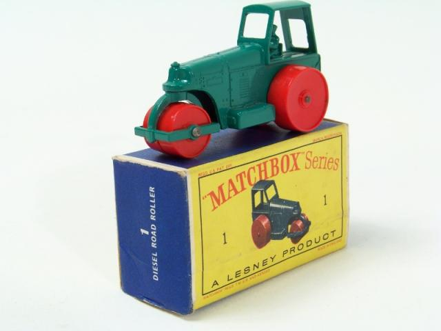 Picture Gallery for Matchbox 1c Diesel Road Roller
