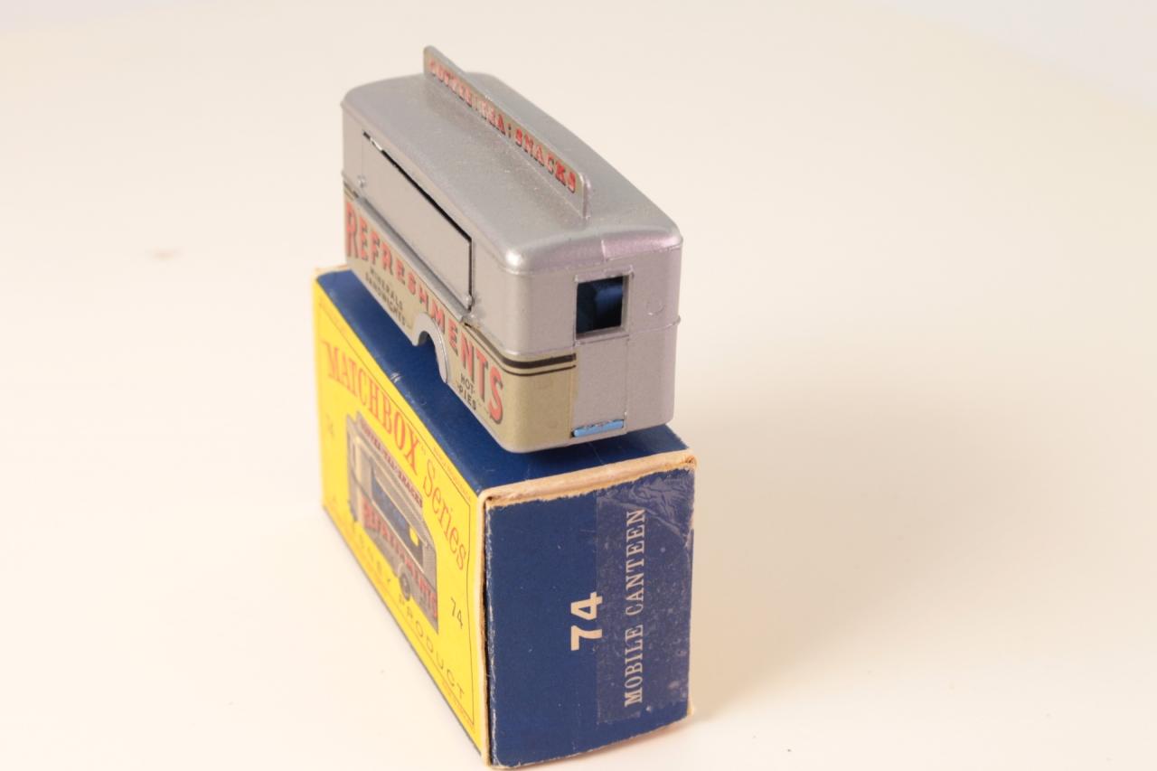 Matchbox #74a - Mobile Refreshments Bar - Silver