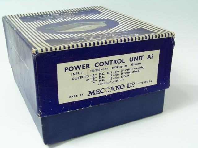 Picture Gallery for Hornby Dublo A3 Power Control Unit