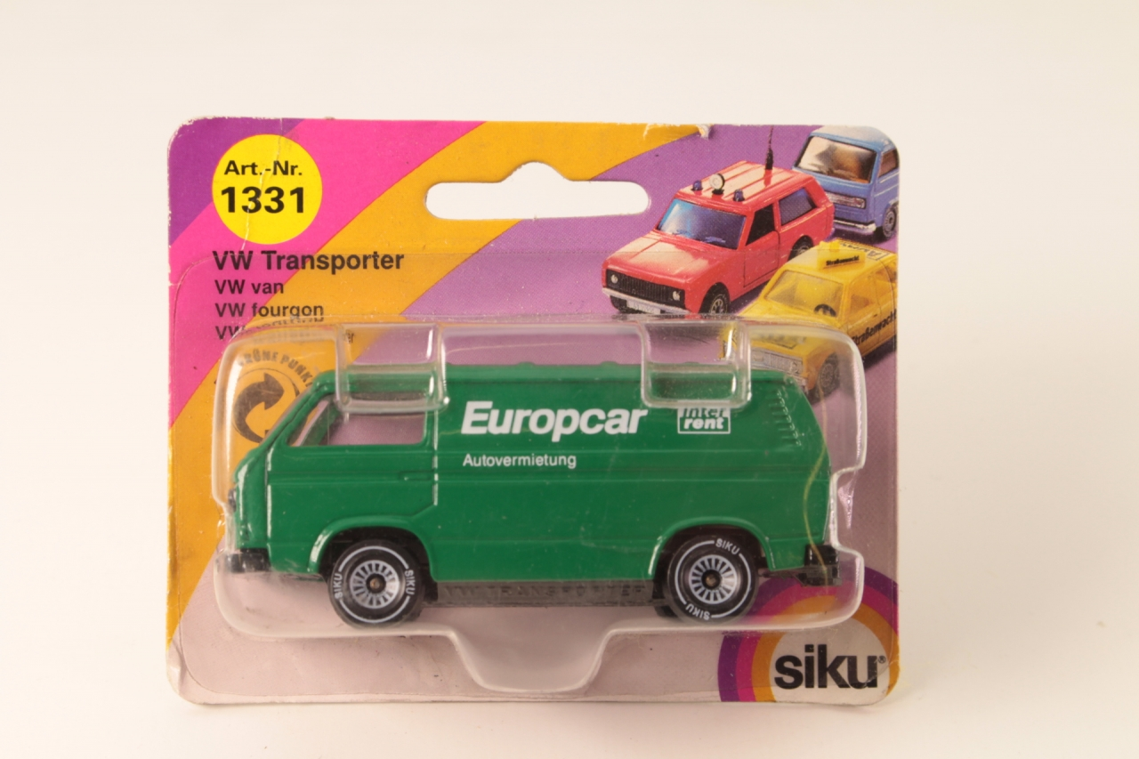 Siku #1331 - VW Transporter - Europcar Green