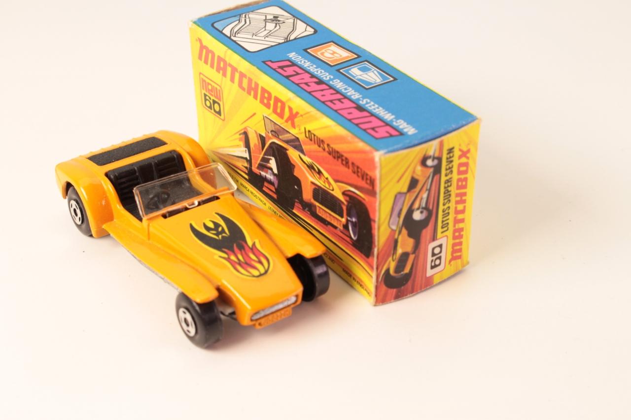 Matchbox #60c - Lotus Super Seven - Orange