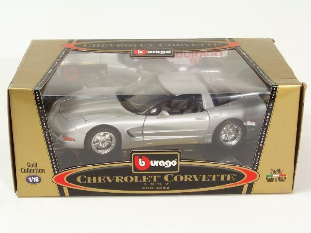 Picture Gallery for Burago 3356 1997 Chevrolet Corvette