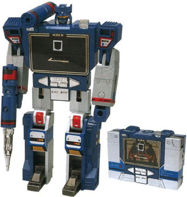 Picture Gallery for Transformers 17 Soundwave