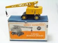 Picture Gallery for Dinky 571 Coles Mobile Crane