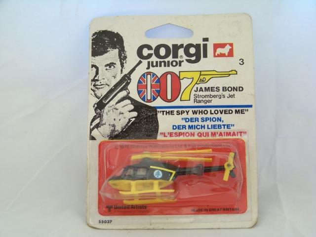 Picture Gallery for Corgi Juniors 3 Stromberg's Jet Ranger