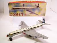 De Havilland DH-106 Comet Plated Silver 1:200 Scale Plane Aircraft 11