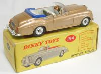Picture Gallery for Dinky 194 Bentley S Series Coupe