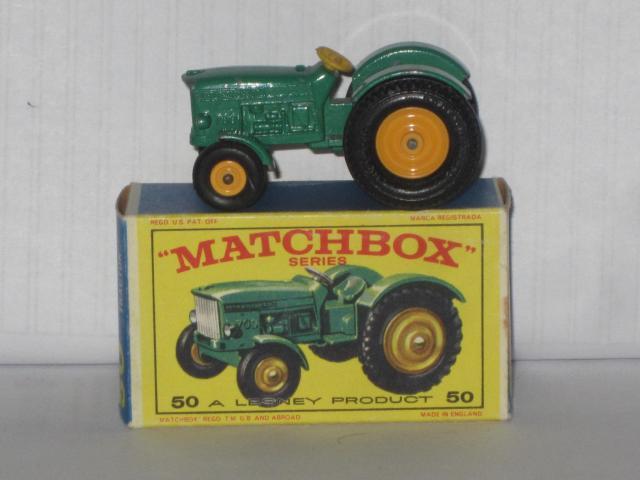 John Deere Matchbox Tractor : Matchbox b john deere lanz tractor free price guide