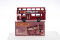 Matchbox #17g - Londoner Bus (Berger) - Red