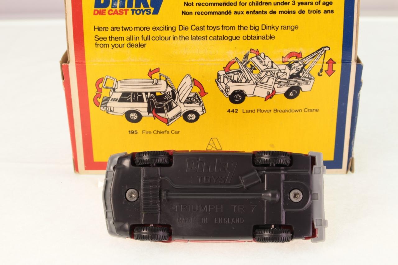 Dinky #211 - Triumph TR7 Sports Car - Red