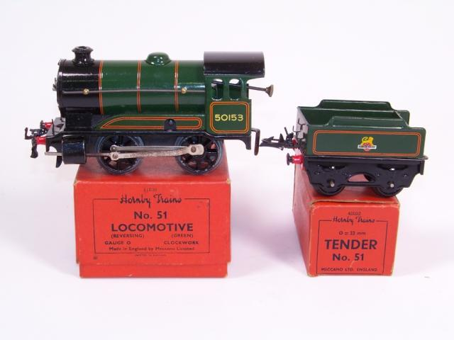 Picture Gallery for Hornby O 51 Loco & Tender