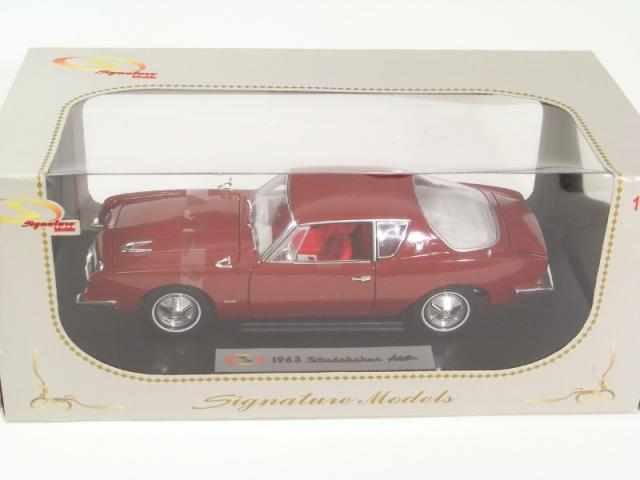 Picture Gallery for Signature Models 18101 1963 Studebaker Avanti