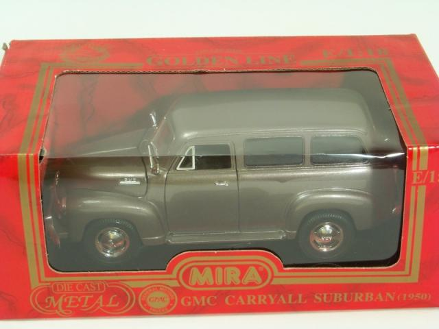 Picture Gallery for Mira 6236 1950 GMC Carryall Suburban