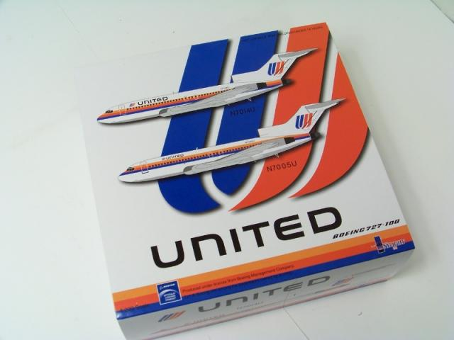 Picture Gallery for Inflight IF721134 Boeing 727-100