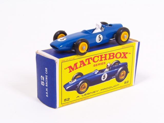 Picture Gallery for Matchbox 52b B.R.M Racing Car