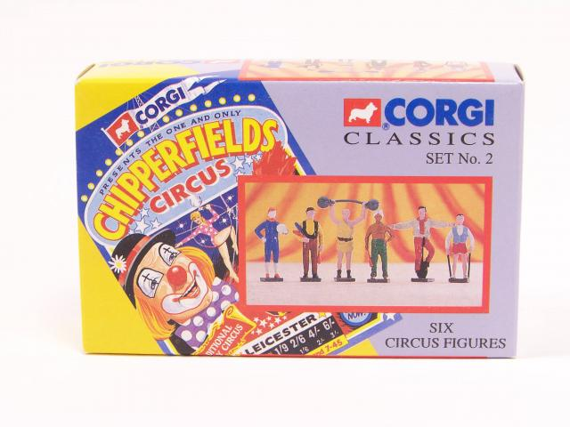 Picture Gallery for Corgi Classics 2 Six Circus Figures