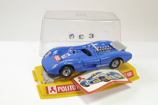 Picture Gallery for Politoys M16 Matra Simca Sport 660
