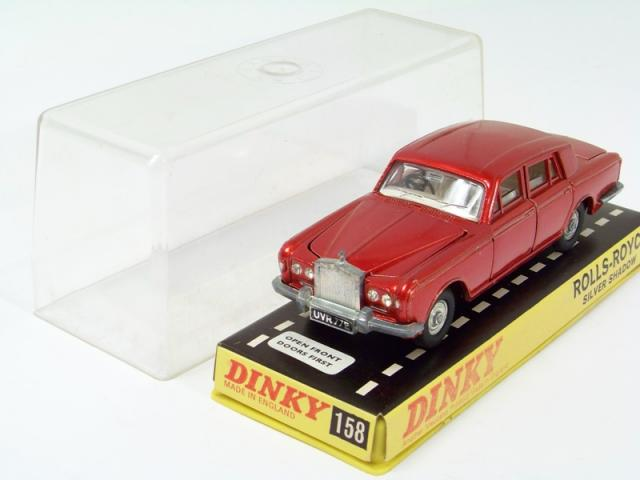 Dinky 158 Rolls Royce Silver Shadow Reproduction Repro Metal Boot Trunk Lid
