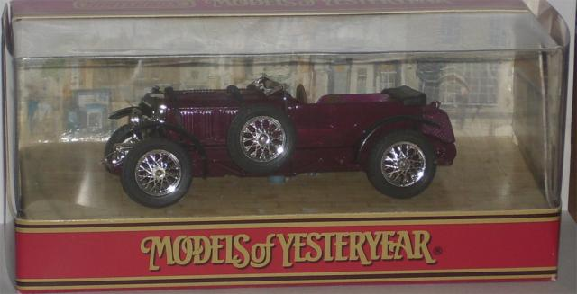 Picture Gallery for Matchbox Yesteryear Y2 1930 4.5 Litre Bentley
