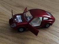 Corgi #341 - Mini Marcos  GT 850 - Red or Maroon