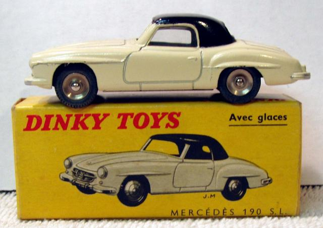 Picture Gallery for Dinky 526 Mercedes 190SL Coupe
