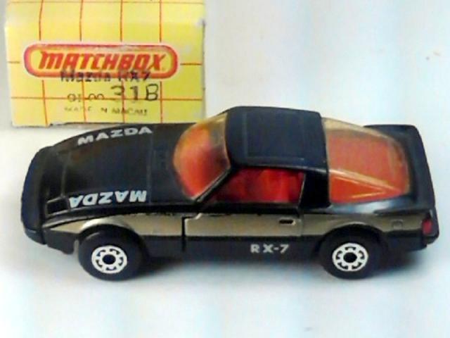 White /'Mazda/' Matchbox Superfast Mazda 2 Mint//Boxed