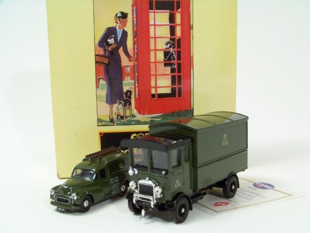Picture Gallery for Corgi D15-1 GPO Telephones Van Set