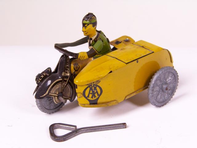 Picture Gallery for Mettoy 99999 Motorcycle and Sidecar