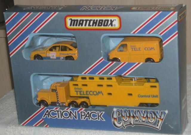 Picture Gallery for Matchbox CY-206 Convoy Action Pack