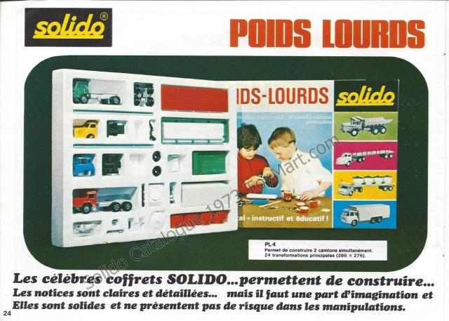 Picture Gallery for Solido PL4 Truck Set