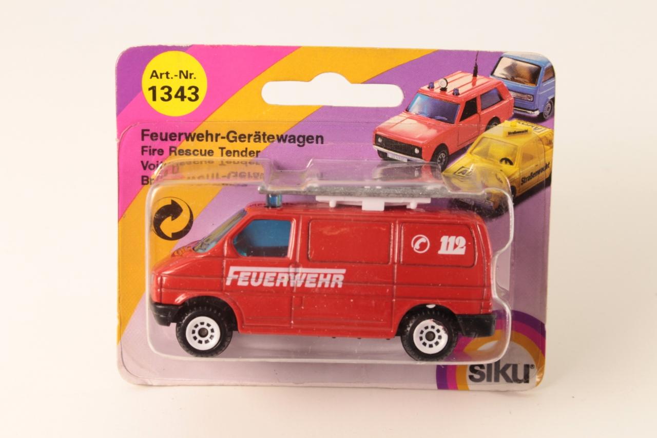 Siku #1331 - Fire Rescue Tender - Red
