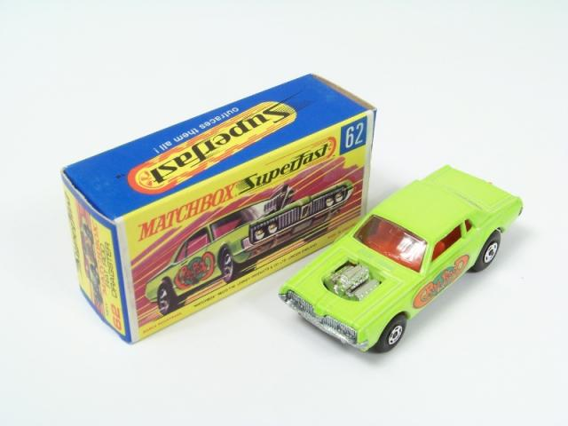 Picture Gallery for Matchbox 62d Rat Rod Dragster