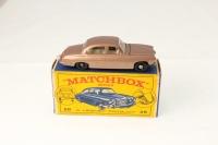 Matchbox #28c - Jaguar MK 10 - Metallic Brown (BPW)
