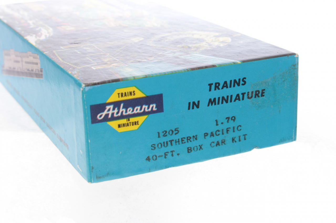 Picture Gallery for Athearn 1205 Southern Pacific Box Car Kit