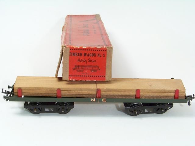 Picture Gallery for Hornby O R168 Timber Wagon No.2