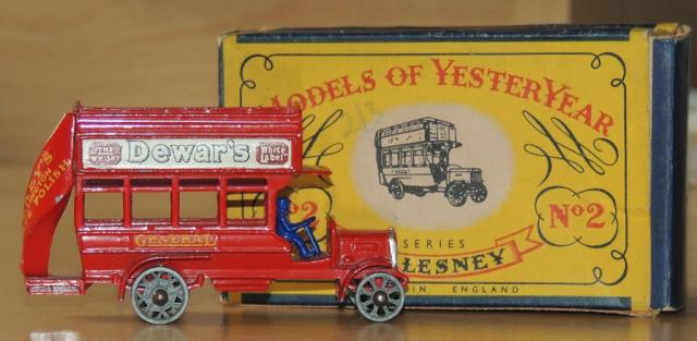 Picture Gallery for Matchbox Yesteryear Y2 B Type London Bus