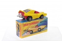 Matchbox #58d - Woosh n push - Yellow